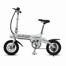 14 Inch Aluminium Frame Electric Mini Bike Shuangye Ebike
