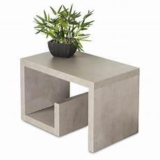 beistelltisch betonoptik couchtisch gustav 59x36x37cm betonoptik grau beistelltisch