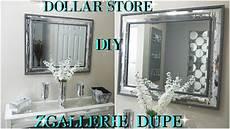 Z Gallerie Bathroom Ideas by Diy Dollar Store 2018 High End Mirrored Wall Decor Dupe