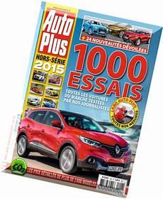Auto Plus Hors Serie Essais 2015 Pdf Magazine