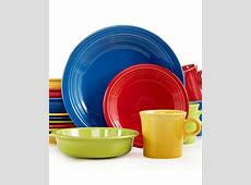 Fiesta Mixed Bright Colors 16 Piece Set, Service for 4