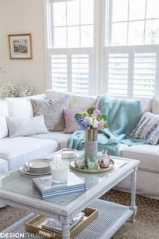 spring decor how to use accessories to add color to a