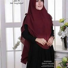 Jilbab Langsung Pakai 2 Layer Ceruti Babydoll Fashion