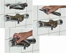 thermostat dusche wird nicht warm schritt f 252 r schritt