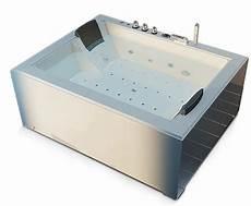 baignoire balneo 2 places baignoire baln 233 o spa blanche 2 places 40 jets
