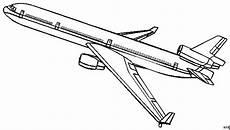 Ausmalbilder Flugzeuge Malvorlagen Grosses Flugzeug Ausmalbild Malvorlage Die Weite Welt