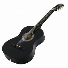 beginner acoustic guitars new beginners acoustic guitar with guitar tuner and black ebay