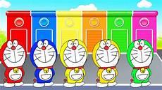 Belajar Warna Dengan Kartun Doraemon Lucu Untuk Anak Anak