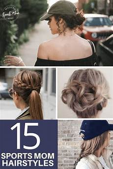 15 game day hairstyles parenting tips mom hairstyles