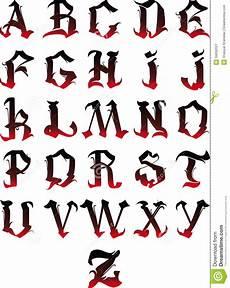 alfabeto gotico lettere alfabeto gotico fotografia stock libera da diritti