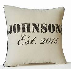 personalized pillow cover family name organic ivory by amorebeaute personalized pillows