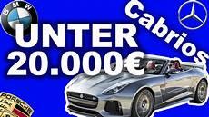 die 5 besten cabrios f 252 r unter 20 000