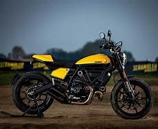 Ducati Scrambler Cafe Racer Yellow