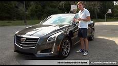 review 2015 cadillac cts v sport youtube