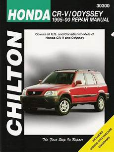 motor auto repair manual 2000 honda odyssey electronic toll collection 1995 2000 honda cr v odyssey chilton s total car care manual