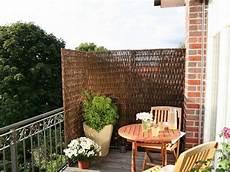 diy balkon sichtschutz
