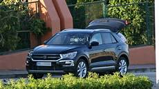 2018 Vw T Roc Spied With Camouflage