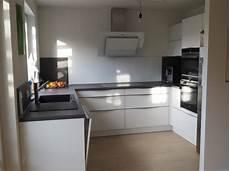 U Form Küche - kleine offene k 252 che in u form sch 252 ller fertiggestellte k 252 chen