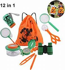 Amazon Com Set Of 6 Bug Explorer Magnifying Amazon Com Messar 12 Pack Outdoor Explorer Kit Kids