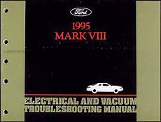 free car manuals to download 1995 lincoln mark viii spare parts catalogs 1995 lincoln mark viii electrical and vacuum troubleshooting manual