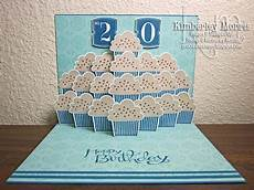 tier of cupcakes card for my s 20th birthday click