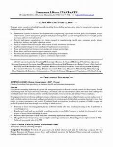 resume exles big 4 accounting resume templates