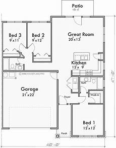 duplex house plans with garage one story duplex house plan with two car garage by