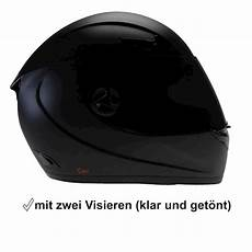 motorradhelm mit schwarzem visier cmx motorradhelm sturzhelm helm blacky schwarz matt mit