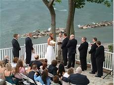 Outdoor Wedding Ceremony Erie Pa wedding ceremony at the lakehouse inn in geneve on the