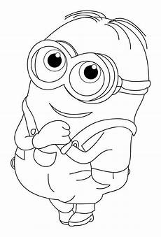 Minions To Print Minions Coloring Pages