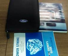 where to buy car manuals 2007 ford f series on board diagnostic system 2007 ford f series super duty owners manual set 07 oem ebay