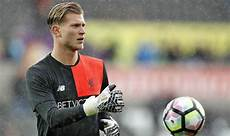 loris karius liverpool goalkeeper loris karius before kick we want