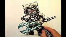 how to draw lord garmadon ninjago lego