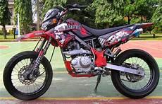 Motor Klx Modifikasi 50 gambar modifikasi kawasaki klx 150 supermoto keren