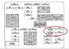 2008 chevy silverado fuse box diagram factory trailer wiring problem chevrolet forum chevy enthusiasts forums