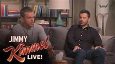 matt damon and jimmy kimmel go to couples therapy