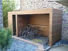 abri vélo bois abri v 233 lo en bois j jardin idee en 2019 abri v 233 lo