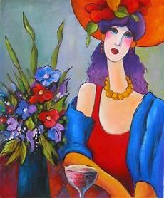 peinture femme moderne peinture figurative femme au cheau femmes arts modernes
