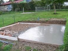 comment faire une dalle en b 233 ton pour un abri de jardin