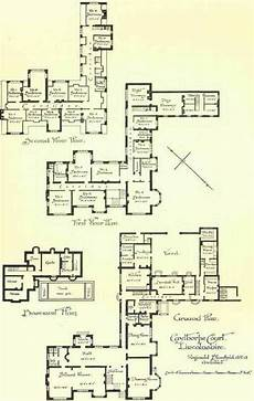 house plans with servants quarters large country houses continued