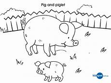 coloring pages of farm animals and their babies 17449 pigs and piglets coloring pages and print for free farm animal coloring pages animal