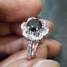 jual beli cincin berlian hitam black diamond 0335