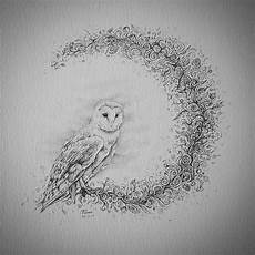 Eulen Malvorlagen Instagram A Barn Owl To Go With The Stag Zendoodle
