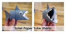 crafts worksheets 20315 make a toilet paper shark puppet 187 dollar store crafts