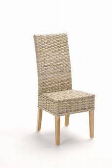 chaise en rotin chaise en rotin gris tress 233 kubu brin d ouest