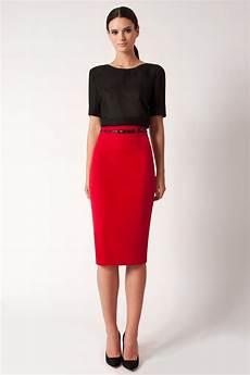 lyst black halo high waist pencil skirt