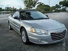 Buy Used 2004 CHRYSLER SEBRING TOURING CONVERTIBLE6 CYL