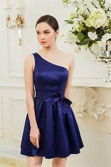 Robe Demoiselle D Honneur Courte Bleu Ref C901 Robe De