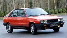 renault r11 turbo 1984 renault r11 turbo sport car technical