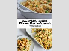chicken noodle casserole cream cheese